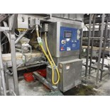 Fritsch 3 roll extruder, Model RDP 600 05247-051.00, SN 9711-0016, approx. 26 in. wide rolls,