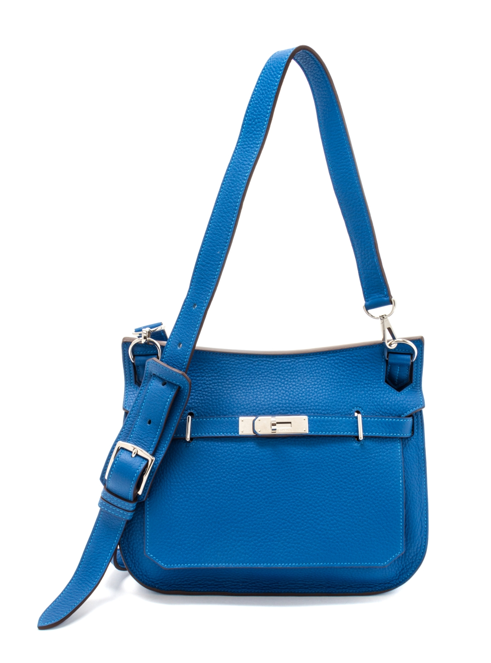 An Hermes Mykonos Taurillon Clemence 28cm Jypsiere Handbag, Summer ...