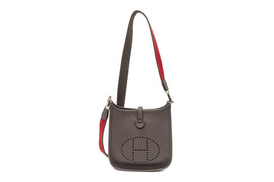 birkin bag price hermes - An Hermes Amazone Etain Taurillon Clemence Mini Evelyne Handbag ...