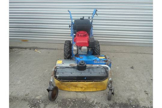 Stella Pedestrian Flail Mower with Honda engine Appraisal: In