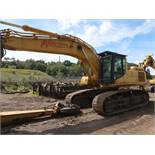 "2002 CATERPILLAR MODEL 345BL-VG HYDRAULIC EXCAVATOR; S/N CCC00448, 29-1/2"" TRACKS, GENERATOR SET,"