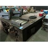 "192"" X 96"" HEAVY DUTY STEEL TABLE"