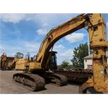 "2002 CATERPILLAR MODEL 345BLME-VG HYDRAULIC EXCAVATOR; S/N 7KS00842, 35-1/2"" WIDE TRACKS, 11,692"
