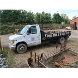 1998 FORD E350 STAKE BODY TRUCK; VIN 1FDWE30S4WHB24633, 15' STEEL BED, 135,835 MILES (UNIT 02-628)