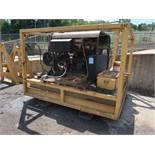 3,500 PSI LANDA MODEL SDHW6-3500 DIESEL POWERED SKID MOUNTED POWER WASH; S/N P0304-76533