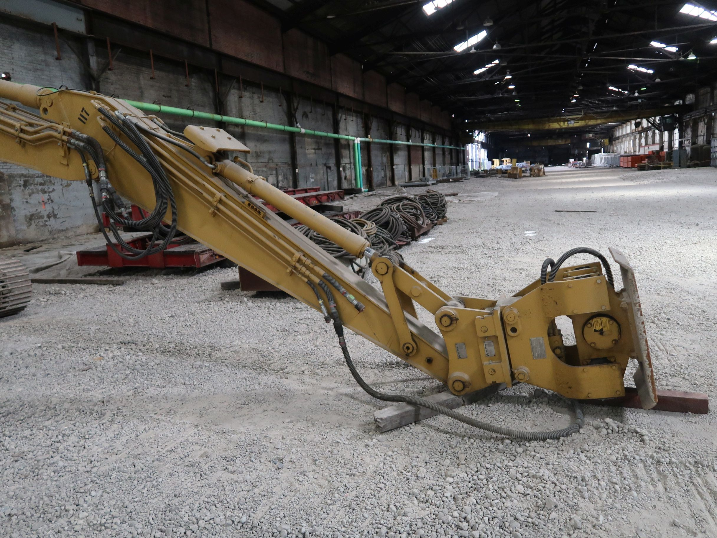 Lot 1034 - 24' WIDE HYDRAULIC DITCH COMPACTOR ATTACHMENT