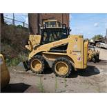 CATERPILLAR MODEL 248B TURBO SKID STEER LOADER; S/N 5CL01248, SOLID TIRE, A/C, FRONT HYDRAULIC (UNIT