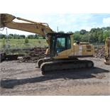 "2002 CATERPILLAR MODEL 322CL HYDRAULIC EXCAVATOR; S/N BKJ00644, 27-1/2"" WIDE TRACKS, CAB AC,"