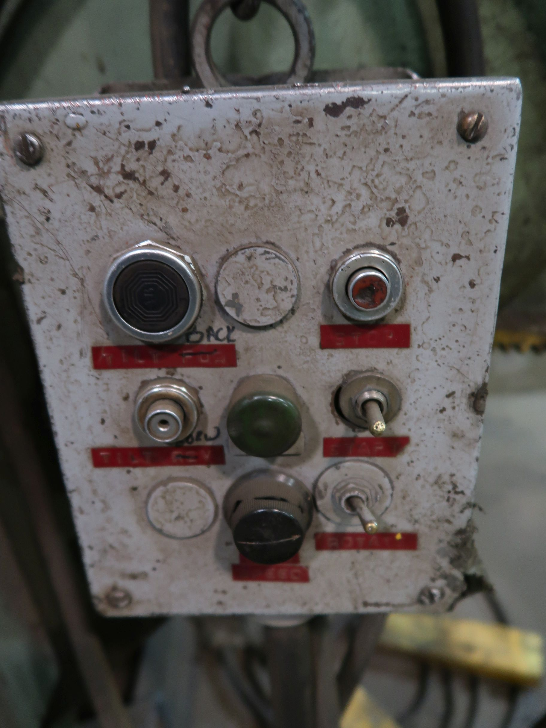 "Lot 1135 - 10,000 LB. ARONSON MODEL SHD100A WELDING POSITIONER; S/N 77333, 48"" X 48"" FACE PLATE"