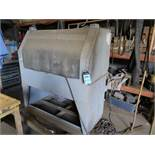 """48"""" SKAT BLAST CABINET WITH DUST COLLECTOR"""