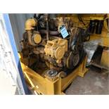 6 CYL. CATERPILLAR ENGINE-REMOVED FROM CAT 345 EXCAVATOR (PARTS ONLY)