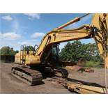 2002 CATERPILLAR MODEL 322CL-ME HYDRAULIC EXCAVATOR; S/N BKJ00617, GENERATOR SET, AC IN CAB, 48""