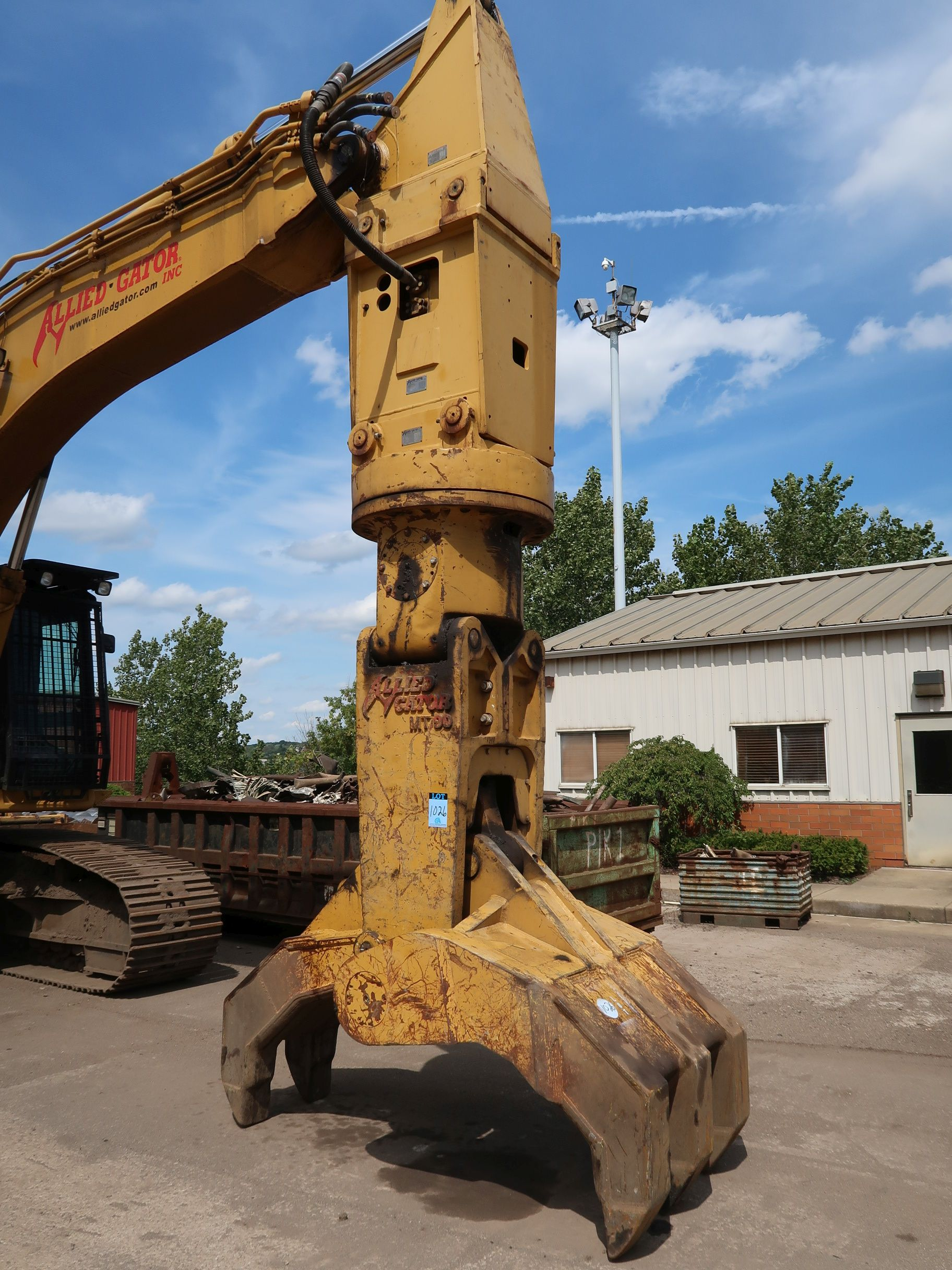 Lot 1026 - ALLIED GATOR MODEL MT90 DENSIFIER ATTACHMENT (DISCONNECT AT BOOM)