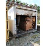 (LOT) HEATER, KEROSINE AND ELECTRIC WITH 14' BOX TRUCK