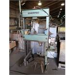 25 TON ENERPAC H-FRAME PRESS WITH POWER TEAM PACK