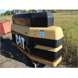8' X 18' CATERPILLAR EXCAVATOR COUNTER WEIGHTS WITH ADDITIONAL COUNTER WEIGHT TO 20,000 LB