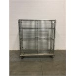 5' Stainless Steel Metro Rack with Caging