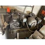 Horizontal tank air compressor by Devilbiss, M 230, 3HP, approx 80 gallon tank