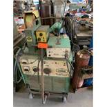 Linder Welder M:VI-400 CV/Dd with Mig-28A wire feeder, L-tec St-23A mig torch