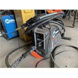 Miller Suitcase 8VS voltage sensing feeder with gas shielding mig cable