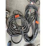 (2) 50' Arcf Welding cables