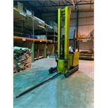 Jungheinrich ETV 320 Side Loader/Reach Truck w/ Carpet Boom Attachment