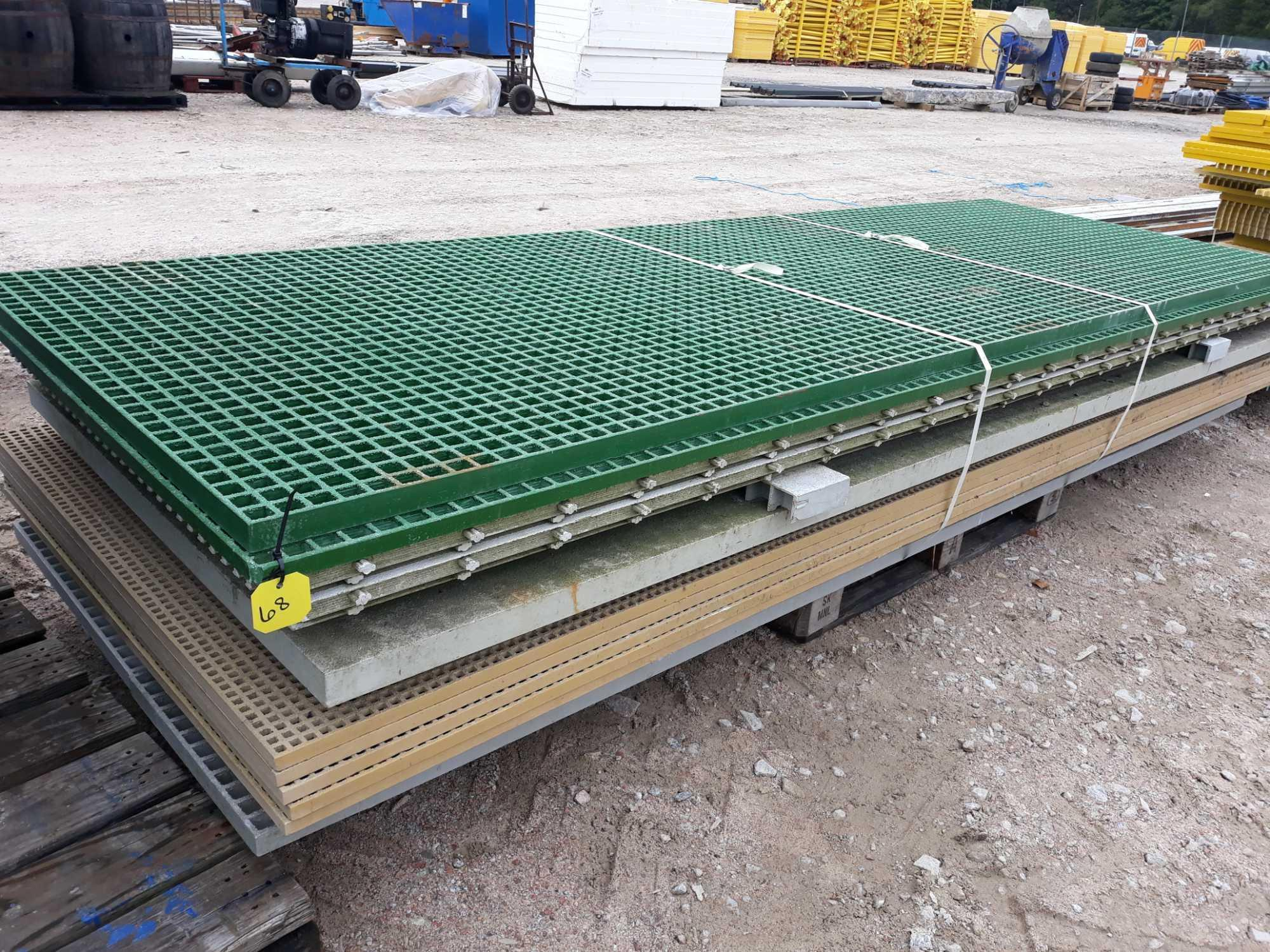 Lot 68 - PALLET OF GRP OFF CUTS