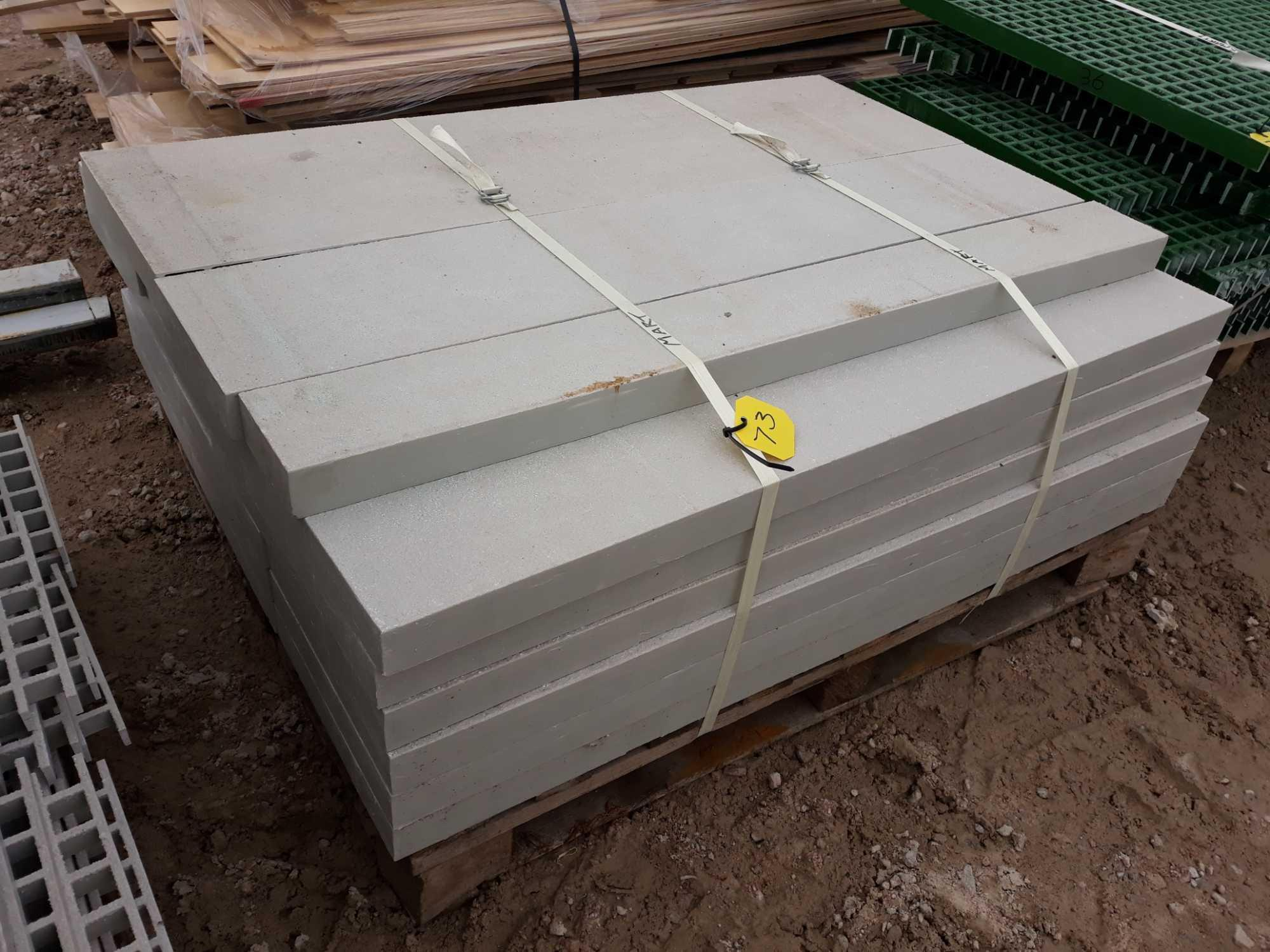 Lot 73 - PALLET OF GRP OFF CUTS