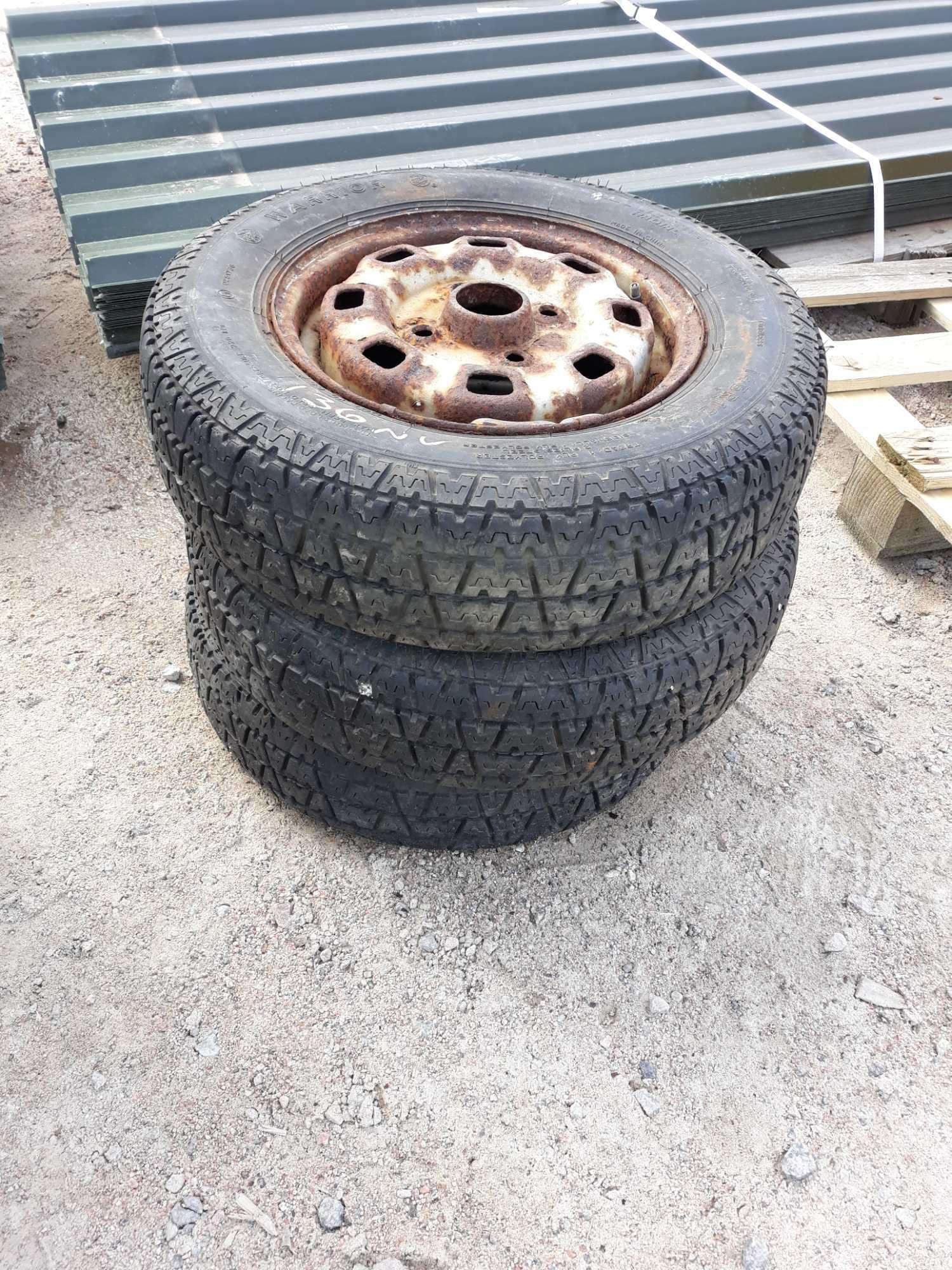 Lot 136 - 3 - 145 - 12 WHEELS AND TYRES