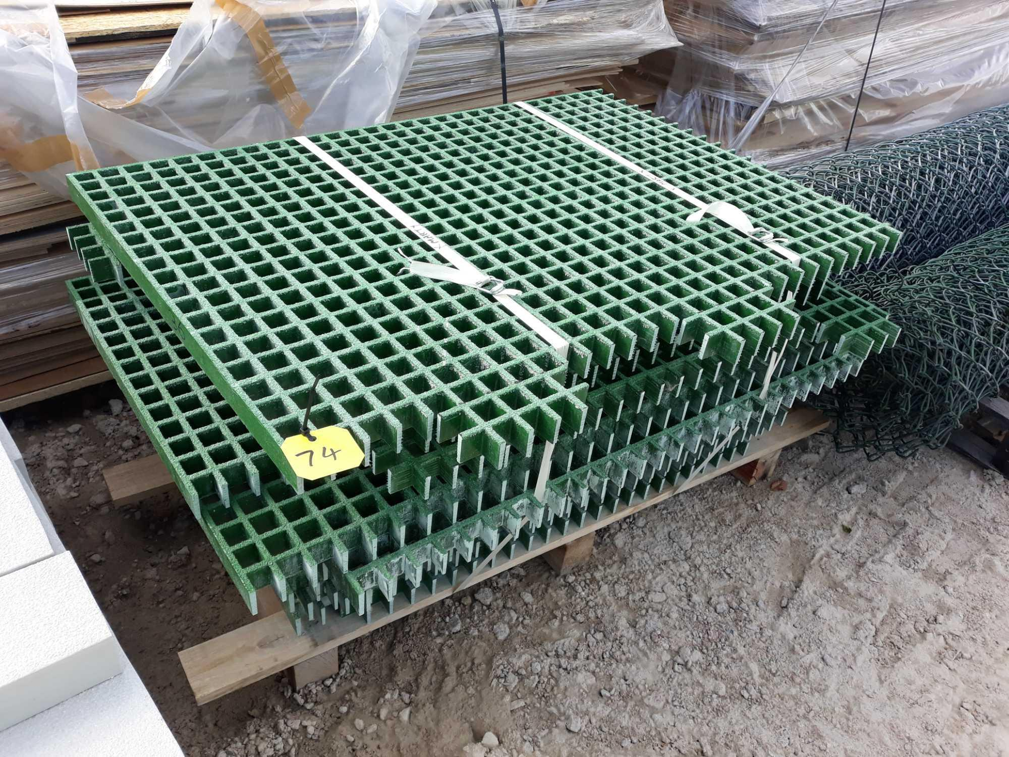 Lot 74 - PALLET OF GRP OFF CUTS