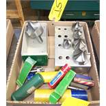 LOT OF ASSORTED RADIUS CUTTERS