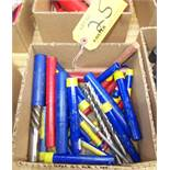 LOT OF ASSORTED END MILLS
