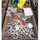 LOT OF ASSORTED BUTTON DIES