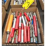 LOT OF ASSORTED SINGLE END MILLS