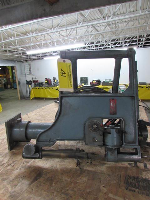 Lot 41 - Heath Engineering table mount  welding station S/N - 1058