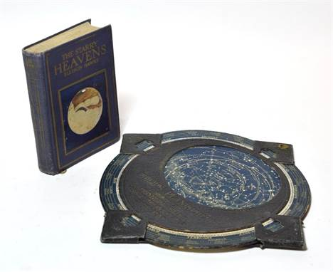 A Philips' Planisphere toy; with Ellison Hawks, The Starry Heavens, published by T Nelson & Son ltd (2)