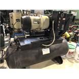 COMPARE ROTARY-VANE COMPRESSOR, MODEL 707CK-NSP1511, S/N 707-004379-9911, 10HP