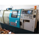 2000 Akira Seiki SL-35 CNC Turning Center s/n 00TE094-073 w/ Fanuc Series 0-T Controls, 12-Station