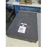 "12"" x 18"" x 3"" Granite Surface Plate"