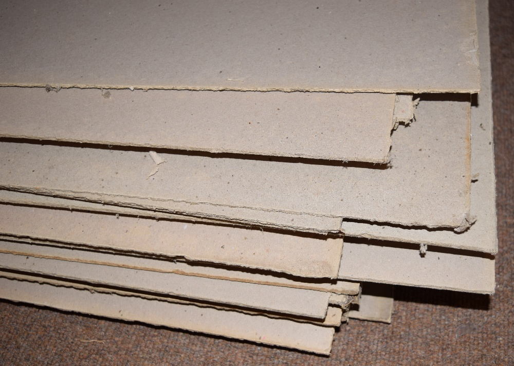 Lot 45 - *Bookbinding Millboard. 50 sheets of 4mm Millboard, dimensions 133 x 71cm (51.5 x 28 inches) (50)