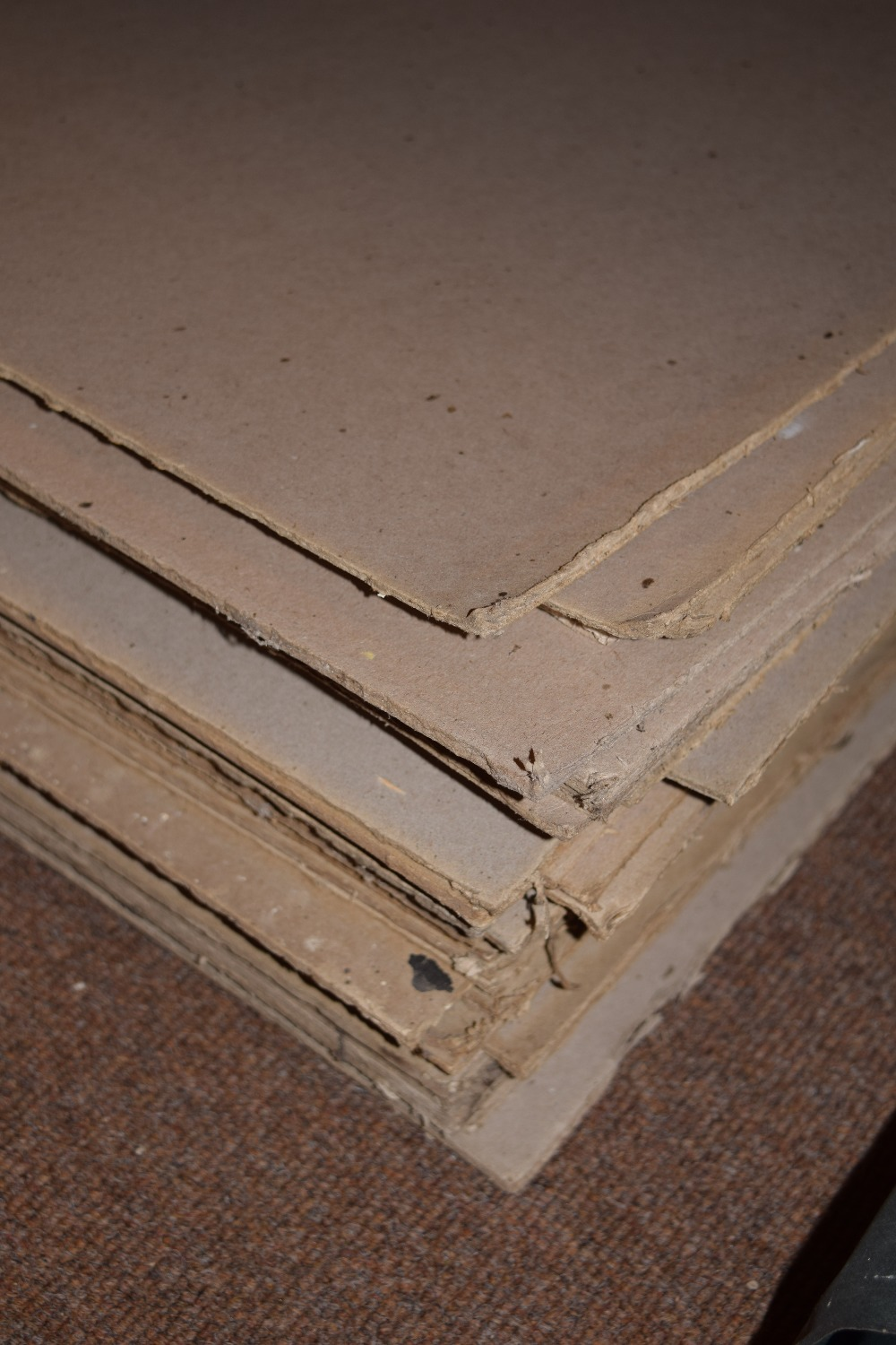 Lot 47 - *Bookbinding Millboard. 50 sheets of 4mm Millboard, dimensions 133 x 71cm (51.5 x 28 inches) (50)