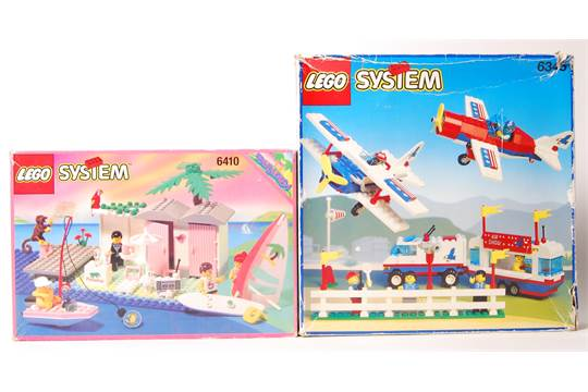 Lego System series set No  6345' Airport Aerial Acrobats
