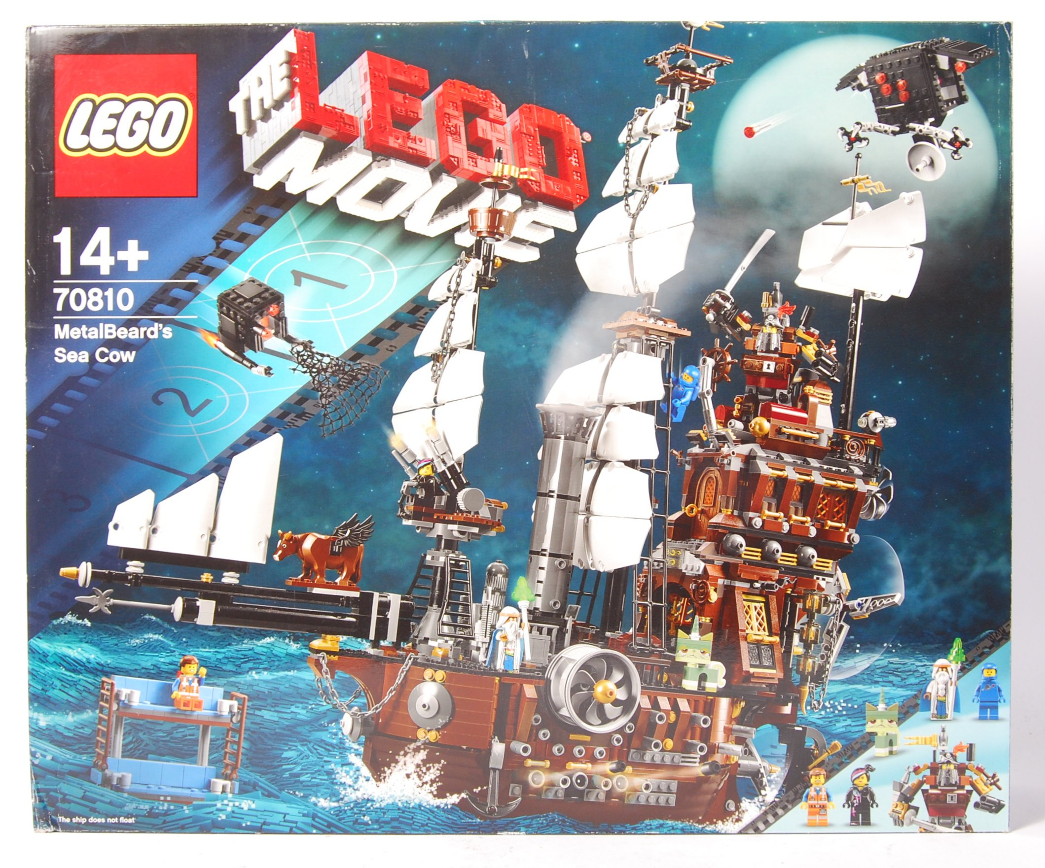 A The Lego Movie Set No 70810 Metalbeard S Sea Cow Vendor Assures Us Set Is 100 Comple