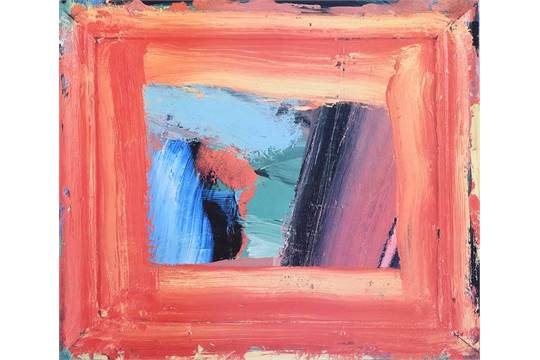 Howard Hodgkins - RUSSIAN MUSIC - Coloured Print - 19 x 22