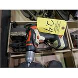 BLACK & DECKER CORDLESS DRILL WITH CHARGER, WORKS