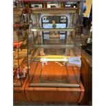 """Beau Comptoir / présentoir de produits Réfrigéré IGLOO # JMR2 -26"""" x 36"""" x 54 """" - vitre bombée"""