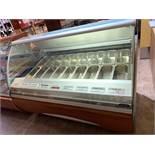 """Super Comptoir GELATO - réfrigéré # AMK GEL 18 - 65 """" x 46"""" - 18 bacs"""