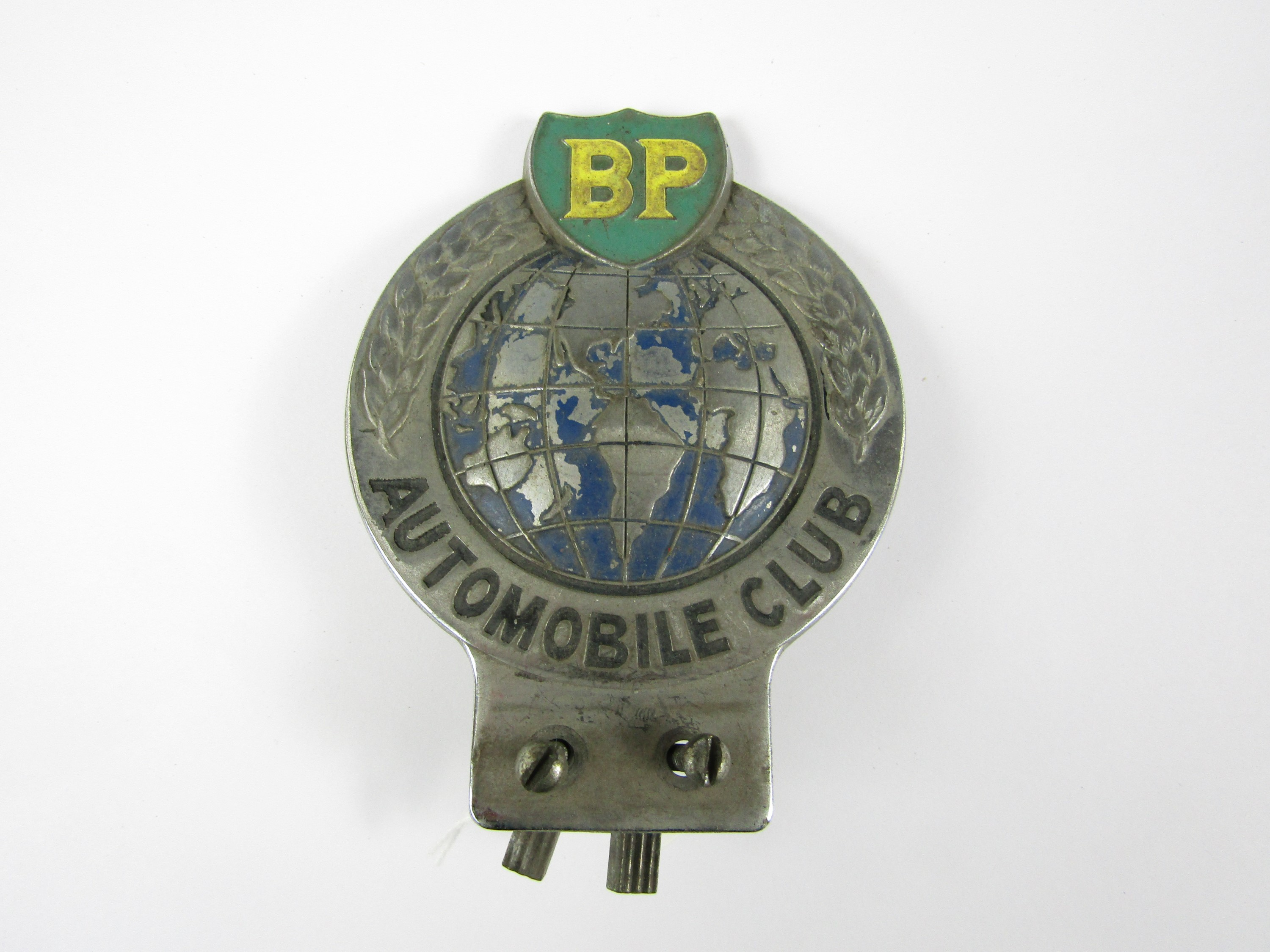Lot 50 - A BP Automobile Club car badge