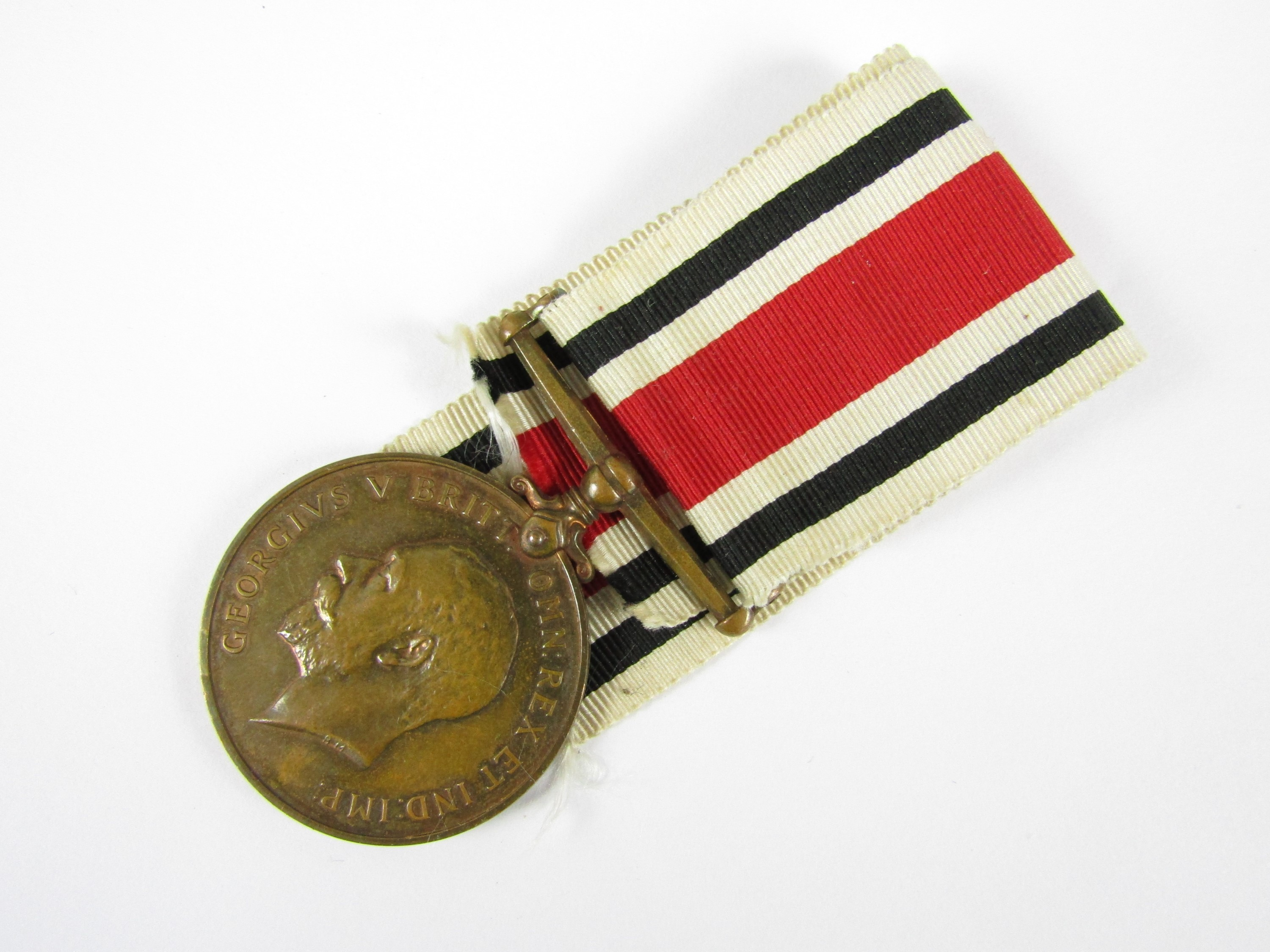 Lot 12 - A George V Special Constabulary medal to Smith Urwin