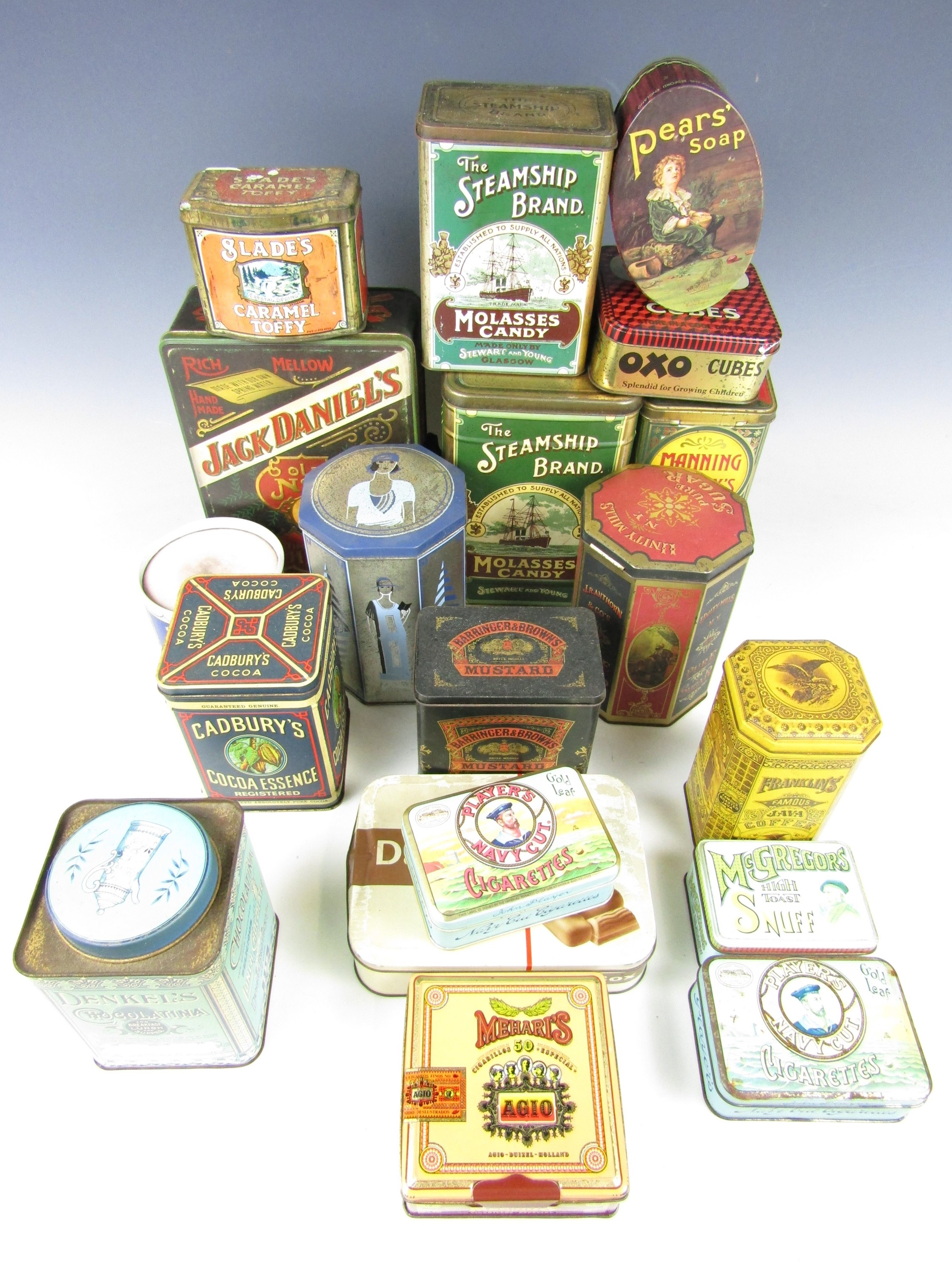Lot 29 - A large quantity of vintage advertising tins
